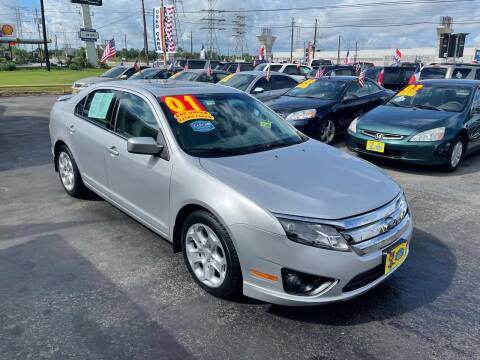 2010 Ford Fusion for sale at Texas 1 Auto Finance in Kemah TX