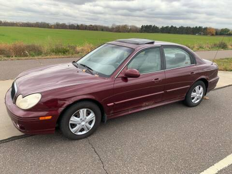 2003 Hyundai Sonata for sale at Major Motors Automotive Group LLC in Ramsey MN