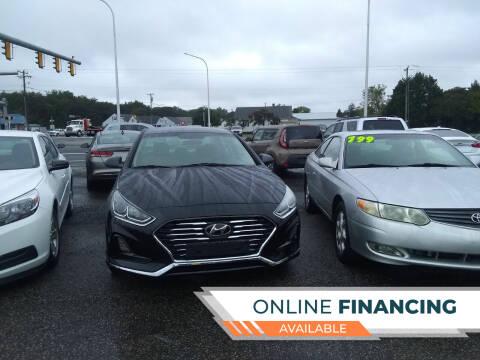 2019 Hyundai Sonata for sale at Marino's Auto Sales in Laurel DE