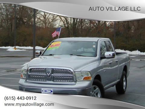 2010 Dodge Ram Pickup 1500 for sale at AUTO VILLAGE LLC in Lebanon TN