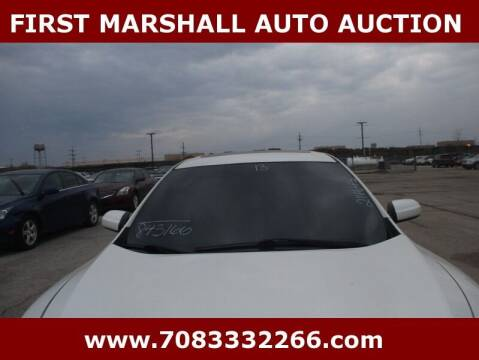 2013 Nissan Maxima for sale at First Marshall Auto Auction in Harvey IL