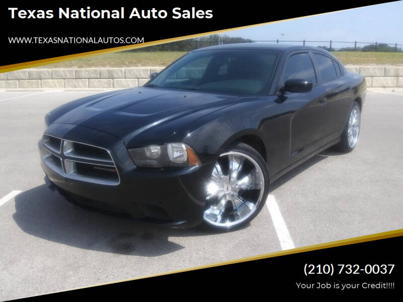 2014 Dodge Charger for sale at Texas National Auto Sales in San Antonio TX