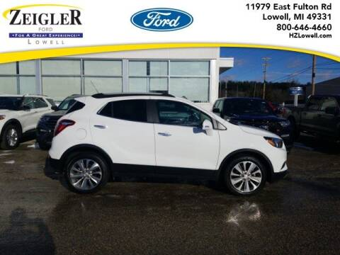 2018 Buick Encore for sale at Zeigler Ford of Plainwell- Jeff Bishop in Plainwell MI