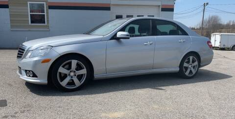 2010 Mercedes-Benz E-Class for sale at Todd Nolley Auto Sales in Campbellsville KY