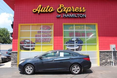 2012 Hyundai Sonata for sale at AUTO EXPRESS OF HAMILTON LLC in Hamilton OH