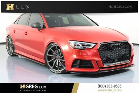 2017 Audi S3 for sale at HGREG LUX EXCLUSIVE MOTORCARS in Pompano Beach FL