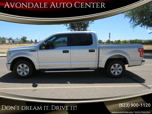 2016 Ford F-150 for sale at Avondale Auto Center in Avondale AZ