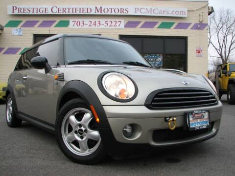 2008 MINI Cooper Clubman for sale at Prestige Certified Motors in Falls Church VA