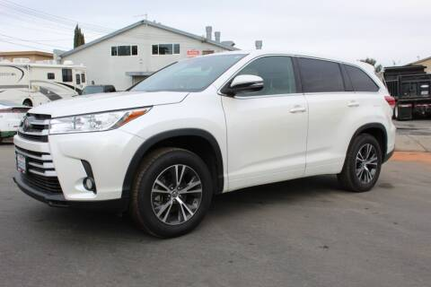 2018 Toyota Highlander for sale at CA Lease Returns in Livermore CA