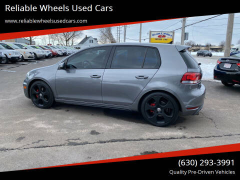 2010 Volkswagen GTI for sale at Reliable Wheels Used Cars in West Chicago IL