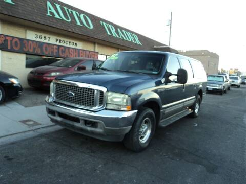 2002 Ford Excursion for sale at DESERT AUTO TRADER in Las Vegas NV
