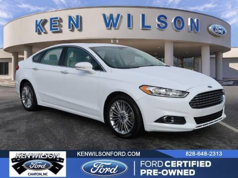 2016 Ford Fusion for sale at Ken Wilson Ford in Canton NC