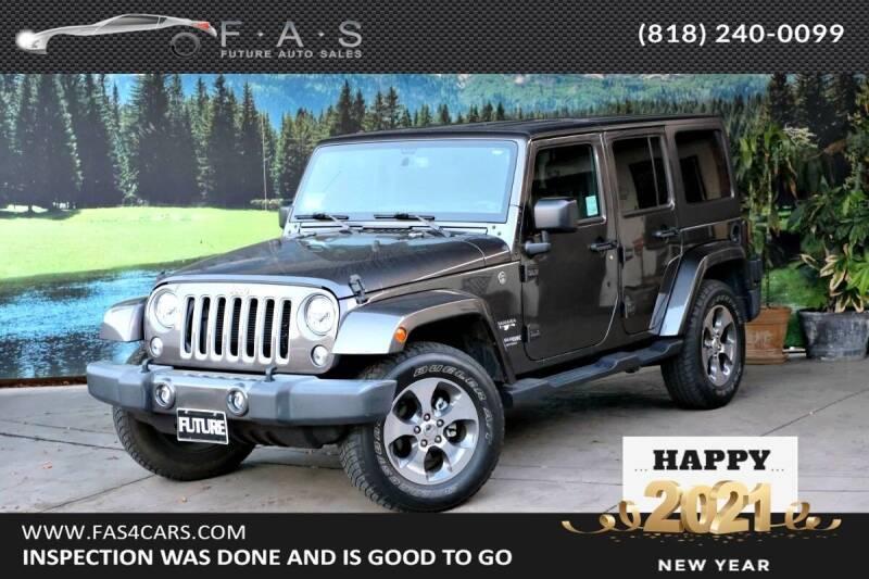 2018 Jeep Wrangler JK Unlimited for sale at Best Car Buy in Glendale CA