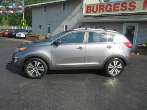 2013 Kia Sportage for sale at Burgess Motors Inc in Michigan City IN