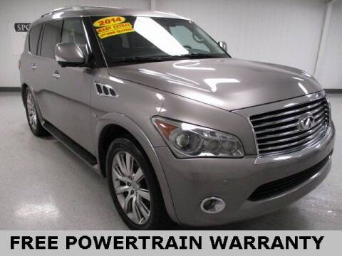 2014 Infiniti QX80 for sale at Sports & Luxury Auto in Blue Springs MO