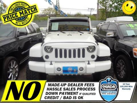 2012 Jeep Wrangler Unlimited for sale at AUTOFYND in Elmont NY