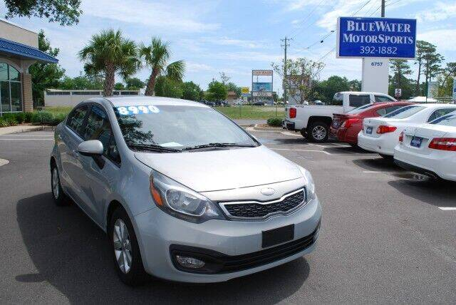 2013 Kia Rio for sale at BlueWater MotorSports in Wilmington NC