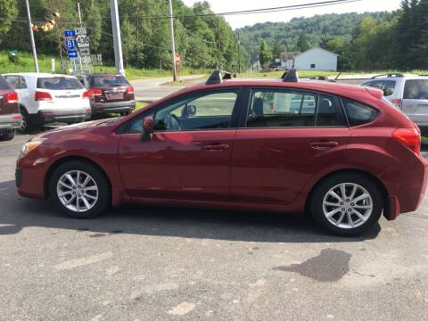 2012 Subaru Impreza for sale at Edward's Motors in Scott Township PA