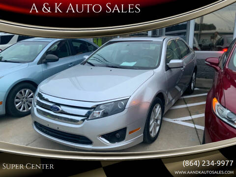 2011 Ford Fusion for sale at A & K Auto Sales in Mauldin SC