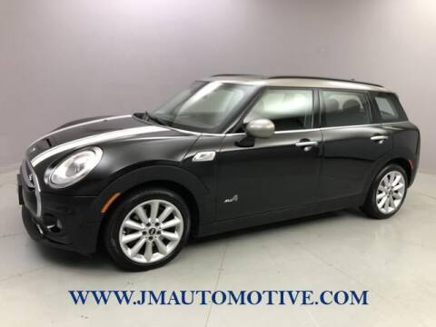 2017 MINI Clubman for sale at J & M Automotive in Naugatuck CT