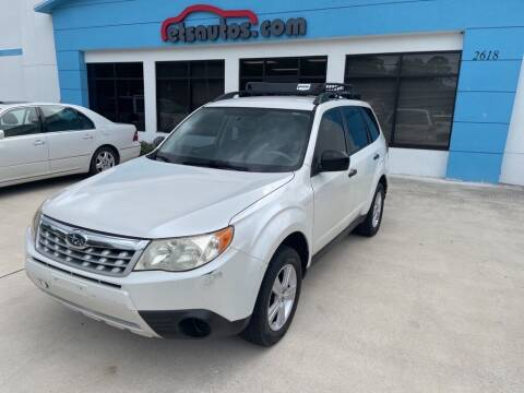 2011 Subaru Forester for sale at ETS Autos Inc in Sanford FL