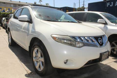 2009 Nissan Murano for sale at FJ Auto Sales in North Hollywood CA