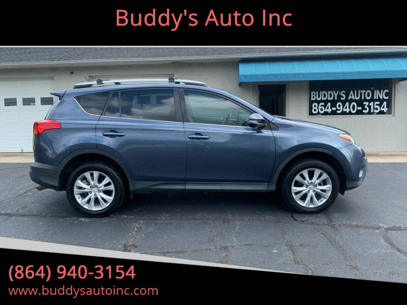 2013 Toyota RAV4 for sale at Buddy's Auto Inc in Pendleton SC