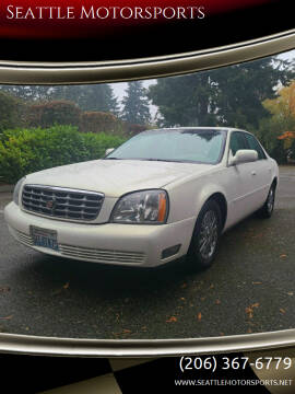 2004 Cadillac DeVille for sale at Seattle Motorsports in Shoreline WA