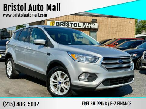 2017 Ford Escape for sale at Bristol Auto Mall in Levittown PA