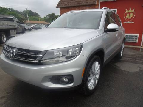 2014 Volkswagen Tiguan for sale at AP Automotive in Cary NC