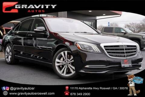 2018 Mercedes-Benz S-Class for sale at Gravity Autos Roswell in Roswell GA