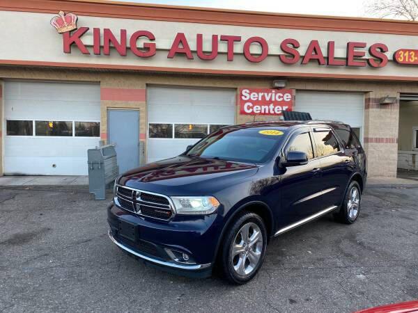 2014 Dodge Durango for sale at KING AUTO SALES  II in Detroit MI