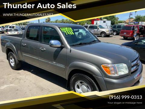 2006 Toyota Tundra for sale at Thunder Auto Sales in Sacramento CA