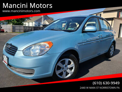2010 Hyundai Accent for sale at Mancini Motors in Norristown PA