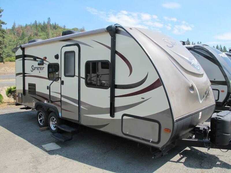 2016 SURVEYOR 220 REAR BATH for sale at Oregon RV Outlet LLC - Diesel Motorhomes in Grants Pass OR
