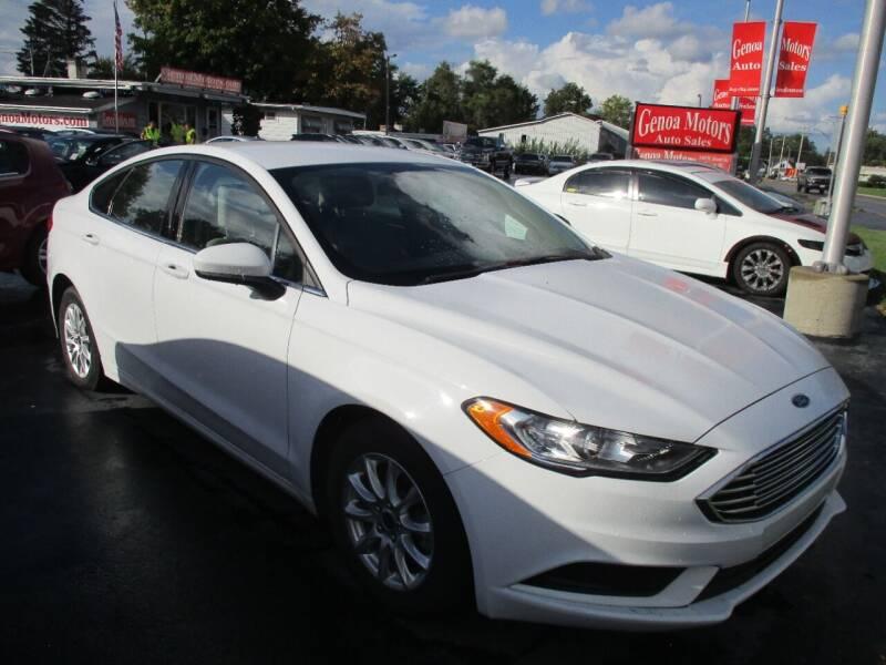 2018 Ford Fusion for sale at GENOA MOTORS INC in Genoa IL