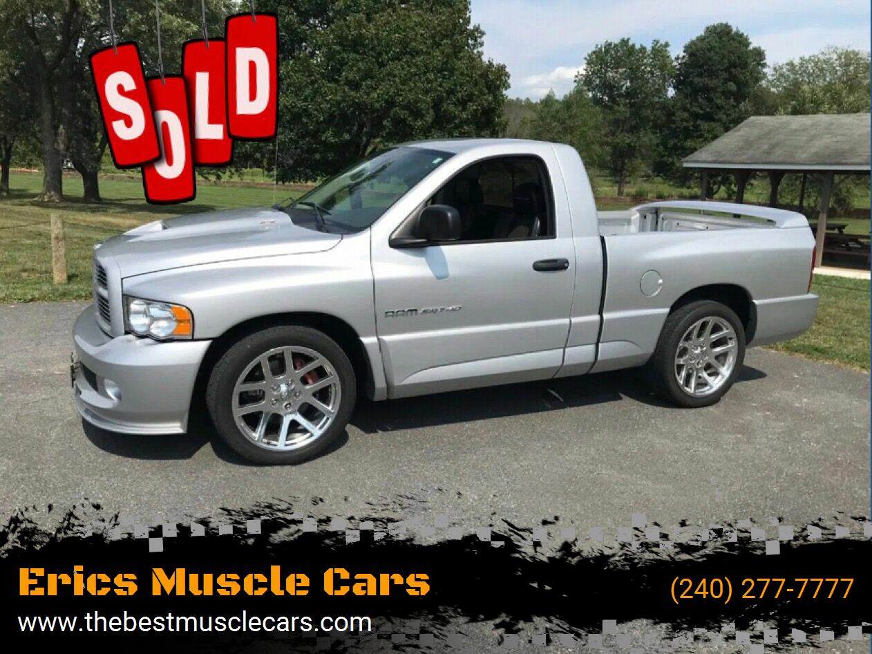 2004 Dodge Ram Pickup 1500 SRT-10 SOLD SOLD SOLD