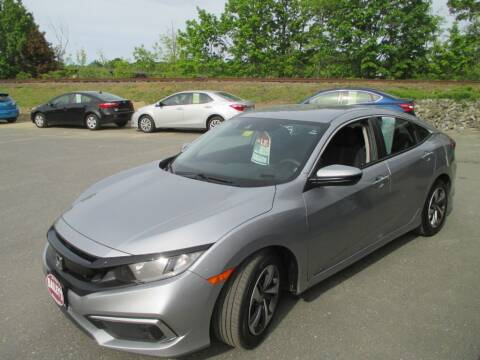 2019 Honda Civic for sale at Percy Bailey Auto Sales Inc in Gardiner ME