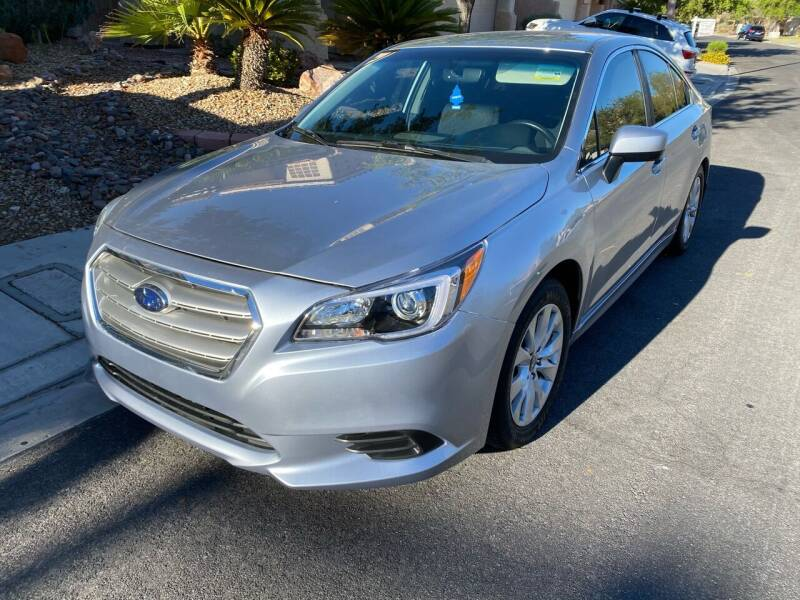 2017 Subaru Legacy for sale at CONTRACT AUTOMOTIVE in Las Vegas NV