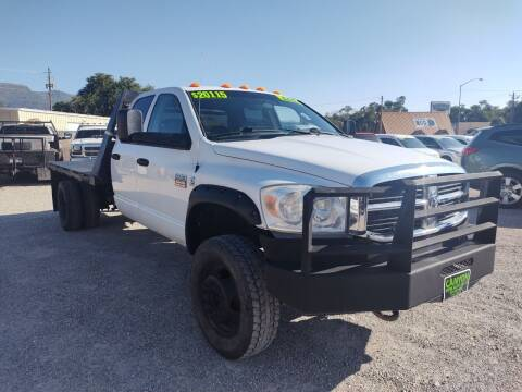 2008 Dodge Ram Chassis 5500 for sale at Canyon View Auto Sales in Cedar City UT