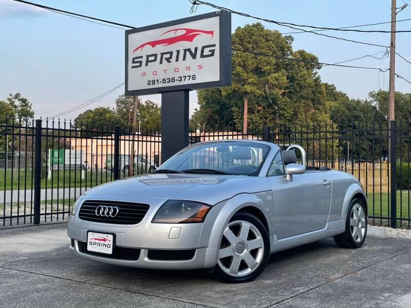 2002 Audi TT for sale at Spring Motors in Spring TX
