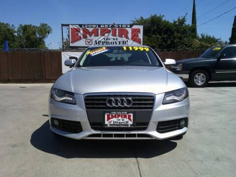 2012 Audi A4 for sale at Empire Auto Sales in Modesto CA