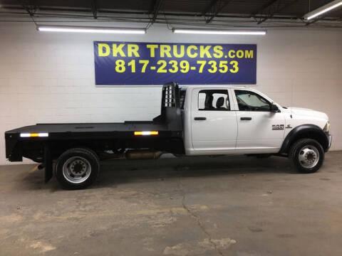 2018 RAM Ram Chassis 5500 for sale at DKR Trucks in Arlington TX