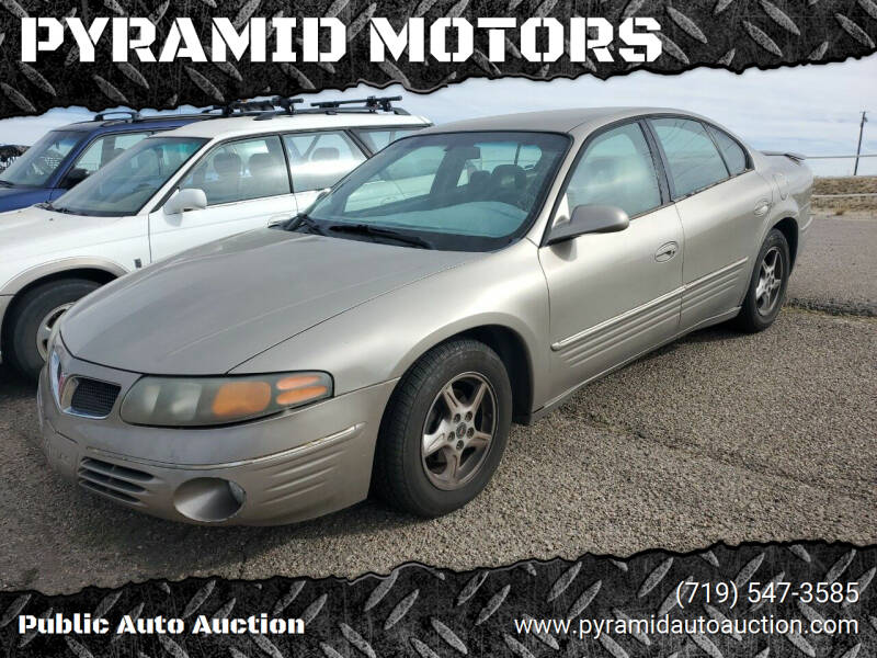 2001 Pontiac Bonneville for sale at PYRAMID MOTORS - Pueblo Lot in Pueblo CO