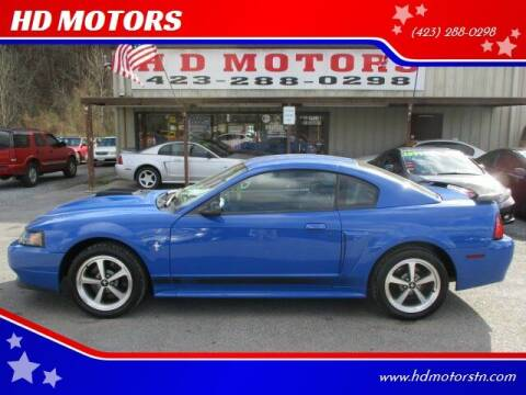 2003 Ford Mustang for sale at HD MOTORS in Kingsport TN