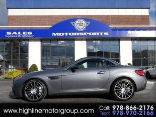 2018 Mercedes-Benz SLC for sale at Highline Group Motorsports in Lowell MA