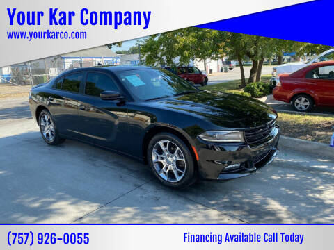 2016 Dodge Charger for sale at Your Kar Company in Norfolk VA