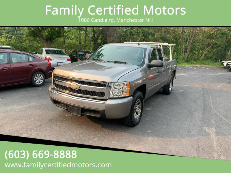 2008 Chevrolet Silverado 1500 for sale at Family Certified Motors in Manchester NH