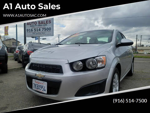 2013 Chevrolet Sonic for sale at A1 Auto Sales in Sacramento CA