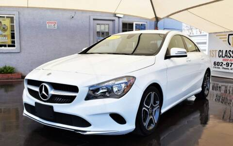 2018 Mercedes-Benz CLA for sale at 1st Class Motors in Phoenix AZ
